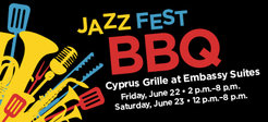 Second Annual Jazz Fest BBQ