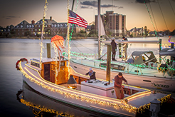 30th Annual Downtown Hampton Lighted Boat Parade