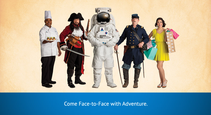 Come Face-to-Face with Adventure